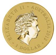 Australia / 1 AUD / Aluminium Bronze / 13.80 g / 30.60 mm / Design: Tom Vaughan / Mintage: 7,500.