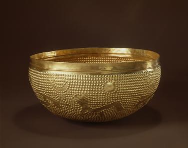 Die Goldschale von Zürich-Altstetten (ZH). Bronzenzeit. © Schweizerisches Nationalmuseum.
