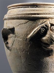 Becher aus Keramik. Giubiasco (TI). 1. Jh. n.Chr. © Schweizerisches Nationalmuseum.