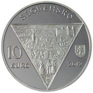Slowakei / 10 Euro / .900 Silber / 18 g / 34 mm / Design: Pavel Károly / Auflage: 7.900 in Spiegelglanz und 5.800 in Stempelglanz.