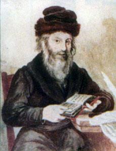 Moses, genannt Chatam Sofer. Quelle: Wikipedia.