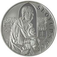 Slowakei / 10 Euro / .900 Silber / 18 g / 34 mm / Design: Mária Poldaufová / Auflage: 11.870 in Spiegelglanz und 7.400 in Stempelglanz.