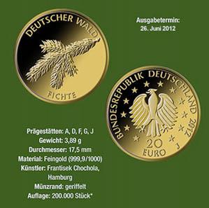 Die Vorstellung der Goldmünze in Berlin. © Bundesministerium der Finanzen.