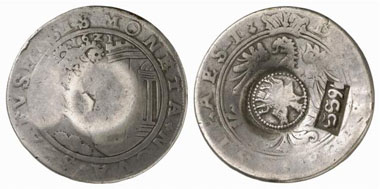 Jefímok, Schaffhausen, taler 1621. From Künker Auction 148 (2009), 1007.