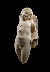 63 Hymenaios, Roman Imperial Age, 1st century AD. White fine crystalline marble. H 51 cm. Estimate: 15,000 / Final Price: 29,900 EUR.