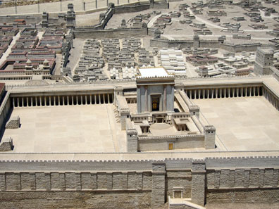 A model of Jerusalem in the time of the second temple. Photo: UK.