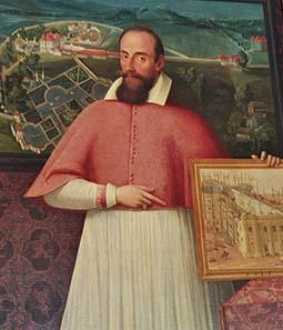 Portrait of Marcus Sitticus of Hohenems.