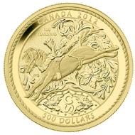 5oz Gold coin.