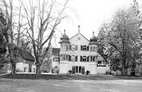 Das Gut Belair in Schaffhausen, Elternhaus des Stifters. © Museum zu Allerheiligen Schaffhausen, Sturzenegger Stiftung.