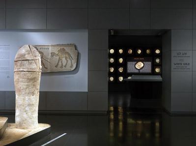 Ein Blick in die neue Ausstellung des Israel Museum