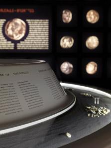 Ein Blick in die Vitrine. Foto: Israel Museum.
