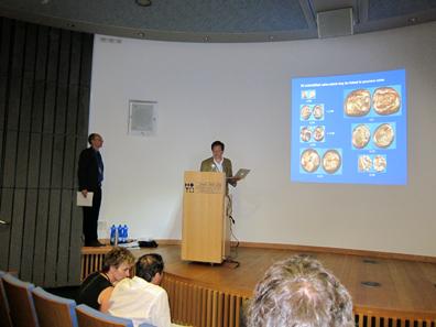 Koray Konuk during his lecture. Photo: UK.