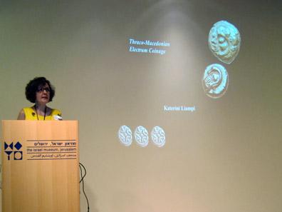 Katerini Liampi of Ioannina University / Greece. Photo: UK.