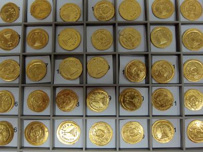 Bei den Münzen handelt es sich durchgehend nur um einen Typ. Foto: UK.