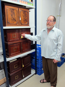 Die Münzsammlung der British Mandate Antiquities ordinances. Foto: UK.