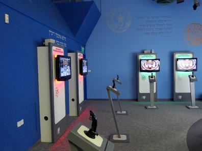 Computerstationen für Spiele. Foto: UK.