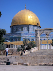 The Dome of the Rock. Photo: UK.