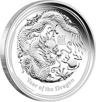 Australia / 8 AUD / 5oz .999 silver / 155.673 g / 65.60 mm / Mintage: 5,000.