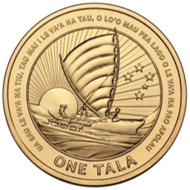 1 Tala uncirculated collectible coin.