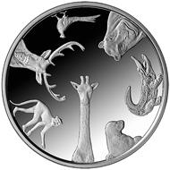 Latvia / 1 lats / .925 silver / 27.00 g / 35.00 mm / Design: Ivars Mailitis (graphic design); Ligita Franckevica and Ivars Mailitis (plaster model) / Mintage: 5,000.