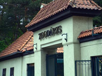 Gate of the Riga National Zoo. Photo: Michael Vokabre / Wikipedia.