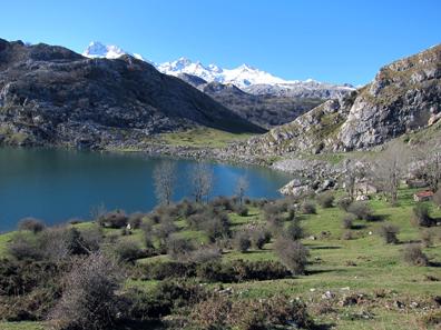 Ein spanischer Bergsee. Foto: KW.