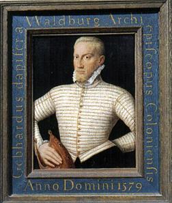 Gebhard Truchseß of Waldburg, Responsible for the Strasbourg Chapter Conflict.