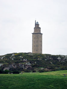 The Lighthouse of A Coruña. Photo: KW.