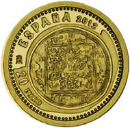 Spain / 20 Euro / 999 gold / 1.24 g /  13.92 mm / Mintage: 12,000.
