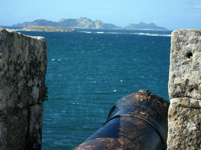 A view over the canons. Photo: KW.