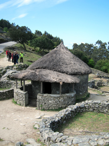 Reconstruction of a house. Photo: KW.