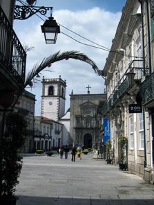 The Dominican church of Viana do Castelo. Photo: KW.