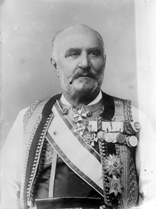 King Nicola I shortly before his removal from office. Photo: Bain News Service 1911. Today, Library of Congress ID ggbain.04998 / Wikipedia.