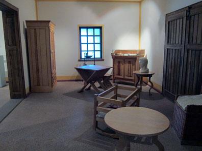 The landlord's studio. Photo: KW.