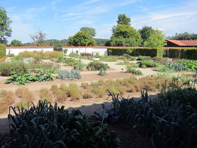 The kitchen garden. Photo: KW.