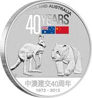 Australia / 1 AUD / 1oz 999 silver / 31.135 g / 40.60 mm / Mintage: 5,000.