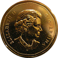 Loonie 2003. Photo: Wikipedia.