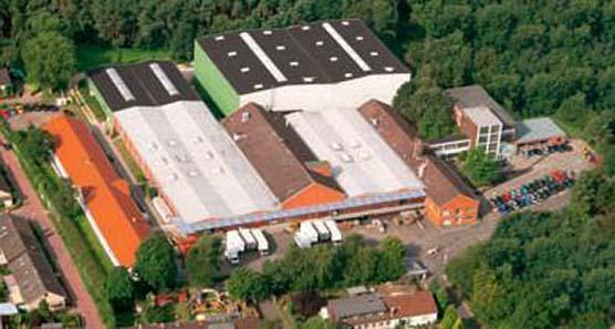 Die Produktionsstätten von Leuchtturm.