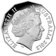 The Australian Ballet Coin in silver.