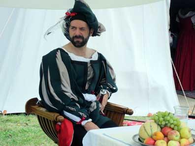 Condottiero in Venice's service. Photo: KW.