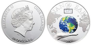 Cook Islands / 10 Dollar / Silber .925 / 50 g / 50 mm / Auflage: 1.000 Stück.