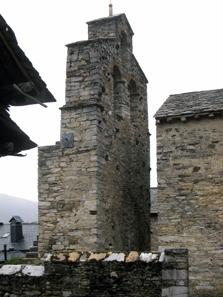 Der Glockenturm des kleinen Juwels. Foto: KW.