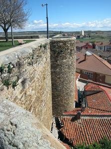 Ein Teil der erhaltenen römischen Stadtmauer. Foto: KW.