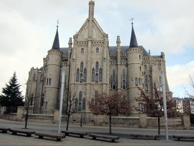 Der Bischofspalast von Astorga, gebaut von Gaudi. Foto: KW.