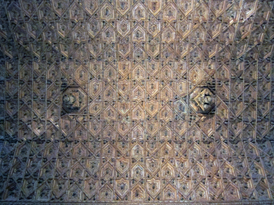 Die berühmte Holzdecke von San Marco. Foto: KW.