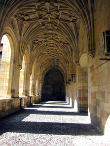 The cloister of San Marcos. Photo: KW.