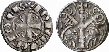 Fernando III, King of Castille and Leon 1230-1252. Dinero, Leon. From Künker auction 137 (2008), 3424.