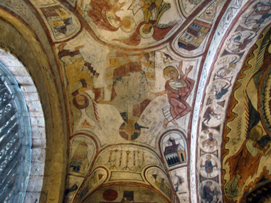 A look at the dome of the Royal Funerary Chapel. Photo: KW.