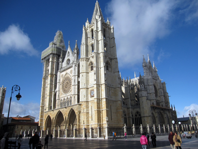 The Cathedral of Leon. Photo: KW.