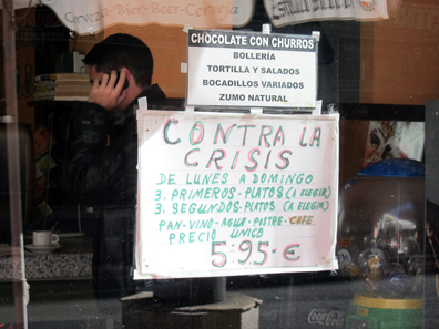 Gegen die Krise. Foto: KW.
